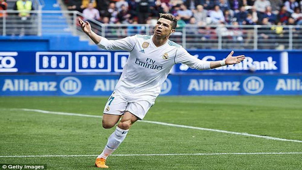 Một nửa số bàn thắng của C.Ronaldo là đệm bóng